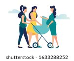 vector illustration  meeting... | Shutterstock .eps vector #1633288252