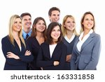 group of business people... | Shutterstock . vector #163331858