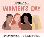international womens day....   Shutterstock .eps vector #1633369438