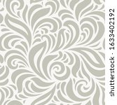floral seamless vector pattern. ... | Shutterstock .eps vector #1633402192