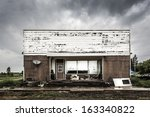 An Old Abandoned Store In A...