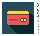 id card flat vector icon   ui...