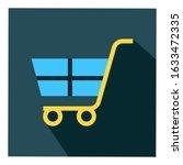 cart flat vector icon   ui icon ...