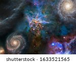 Deep Space Look. Mystic...