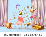 abstract background with... | Shutterstock .eps vector #1633576462