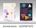 minimum vector coverage. modern ... | Shutterstock .eps vector #1633587652