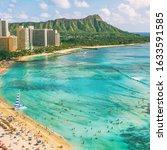 Hawaii Waikiki Beach In...