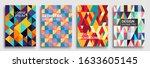 modern geometric abstract... | Shutterstock .eps vector #1633605145