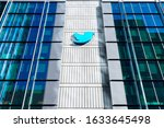 Small photo of Twitter HQ campus in downtown San Francisco. Twitter is an American microblogging and social networking service - San Francisco, California, USA - 2020