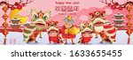 happy chinese new year 2021... | Shutterstock .eps vector #1633655455