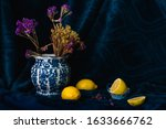 Still Life   Dried Flower In A...