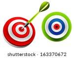 target dart   Shutterstock .eps vector #163370672