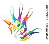 a concept or conceptual... | Shutterstock . vector #163376285