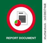 vector report document...   Shutterstock .eps vector #1633837468