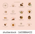 collection of logos and icons... | Shutterstock .eps vector #1633886422