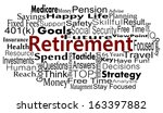 retirement and savings concept... | Shutterstock . vector #163397882