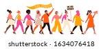 international women's day.... | Shutterstock .eps vector #1634076418