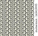 ornamental seamless pattern.... | Shutterstock .eps vector #163419995