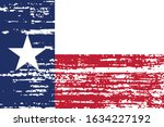 The Flag Of The Usa State Of...