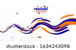 abstract curve lines and fluid... | Shutterstock .eps vector #1634243098