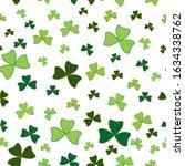 saint patrick's day seamless... | Shutterstock .eps vector #1634338762