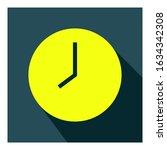 clock flat icon vector   ui...