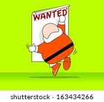concept   in season greeting... | Shutterstock .eps vector #163434266