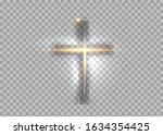 Cross Of Light  Shiny Cross...