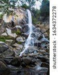 Grizzly Falls in the Kings Canyon. Autumn