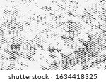 abstract grunge overlay fabric... | Shutterstock .eps vector #1634418325