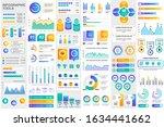 bundle infographic elements...   Shutterstock .eps vector #1634441662