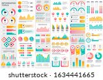 bundle infographic elements... | Shutterstock .eps vector #1634441665