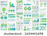 bundle infographic elements...   Shutterstock .eps vector #1634441698