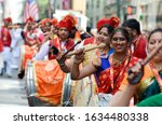 Women Are Seen Wearing Saree  A ...