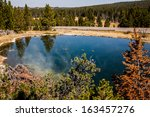 A Small Geothermal Lake With...