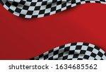 red racing background vector... | Shutterstock .eps vector #1634685562