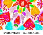 abstract background with... | Shutterstock . vector #1634864608