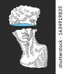 david statue background concept....   Shutterstock .eps vector #1634919835