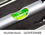 Small mini spirit level  green...