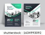 corporate book cover design... | Shutterstock .eps vector #1634993092