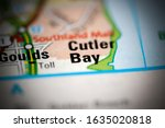 Cutler Bay on a geographical map of USA