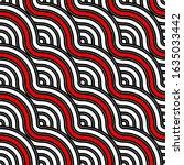 vector seamless pattern... | Shutterstock .eps vector #1635033442