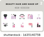 beauty hair and make up flat ...
