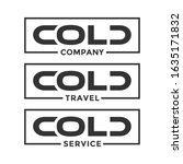 cold company or cold logo icon... | Shutterstock .eps vector #1635171832