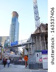 Постер, плакат: High rise construction on