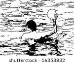 vector illustration of water... | Shutterstock .eps vector #16353832