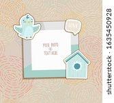 cartoon art styles. decorative...   Shutterstock .eps vector #1635450928