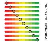 10 level scroll bar  bar chart