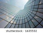 reflections in a futuristic... | Shutterstock . vector #1635532