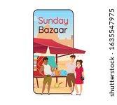 sunday bazaar cartoon...